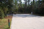 ADA Accessible site with concrete pad.