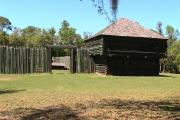 Fort Foster Historic Site is a reconstructed fort from the Second Seminole War.
