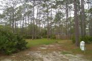 This site is on the inside loop of the campground and located adjacent to an open grass area near campground host site.