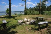 A view of Lake Seminole from the picnic area which is on a high bluff.