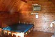 Photo: 002, PRIM. Cabin #2 at Oleta River has a double bed.