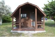 Photo: 003, PRIM. Cabin #3 at Oleta River has a porch swing.